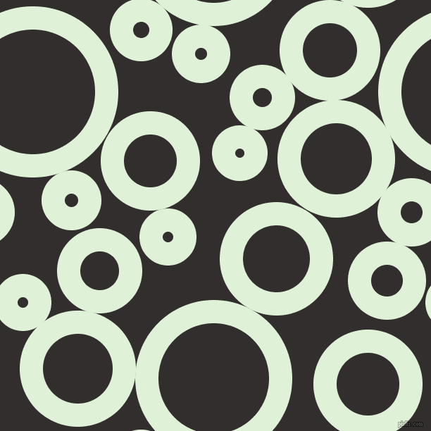 bubbles, circles, sponge, big, medium, small, 33 pixel line width, Hint Of Green and Night Rider circles bubbles sponge soap seamless tileable