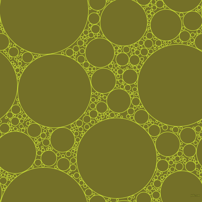 bubbles, circles, sponge, big, medium, small, 2 pixel line widthLas Palmas and Olivetone circles bubbles sponge soap seamless tileable