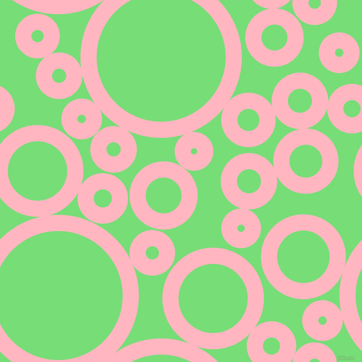 Light Pink And Pastel Green Circles Bubbles Sponge Soap Seamless Tileable 238n83