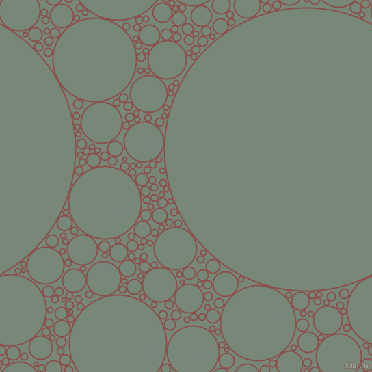 bubbles, circles, sponge, big, medium, small, 2 pixel line width, Lotus and Davy