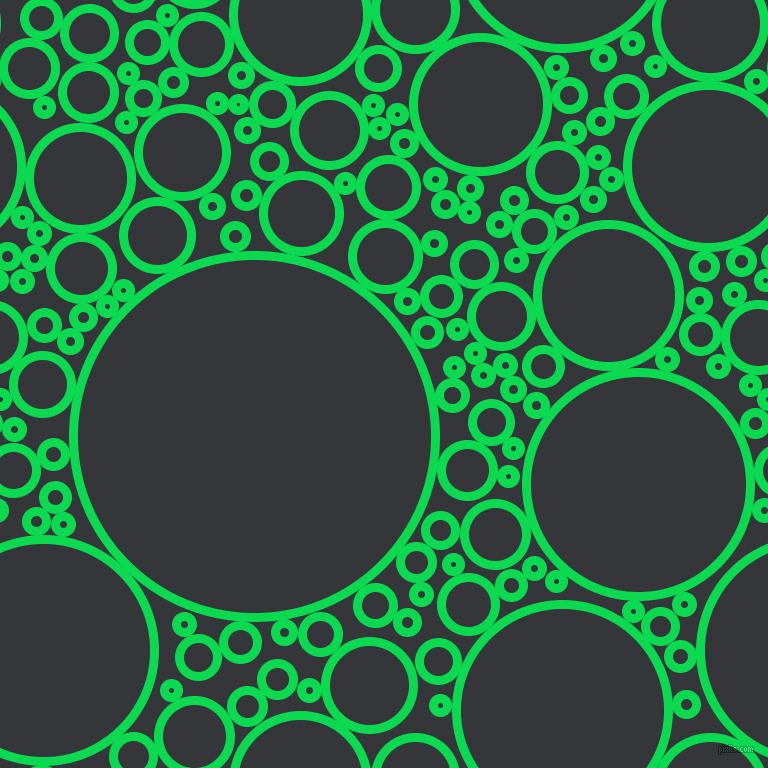 bubbles, circles, sponge, big, medium, small, 9 pixel line width, Malachite and Shark circles bubbles sponge soap seamless tileable