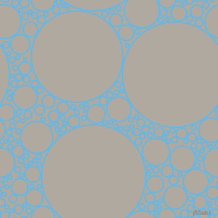 bubbles, circles, sponge, big, medium, small, 3 pixel line width, Malibu and Cloudy circles bubbles sponge soap seamless tileable