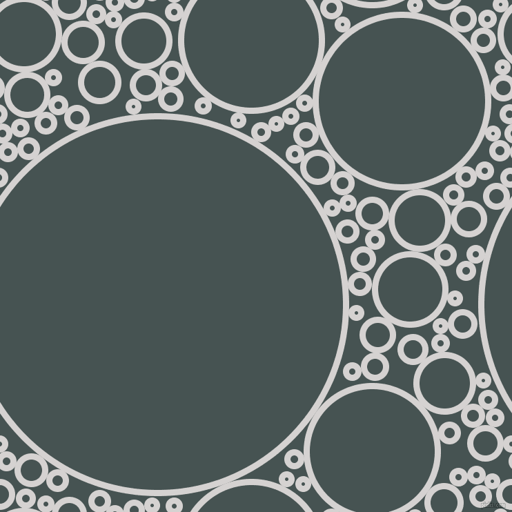 bubbles, circles, sponge, big, medium, small, 9 pixel line width, Mercury and Dark Slate circles bubbles sponge soap seamless tileable