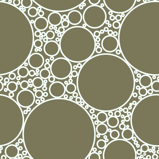 bubbles, circles, sponge, big, medium, small, 5 pixel line width, Mint Cream and Kokoda circles bubbles sponge soap seamless tileable
