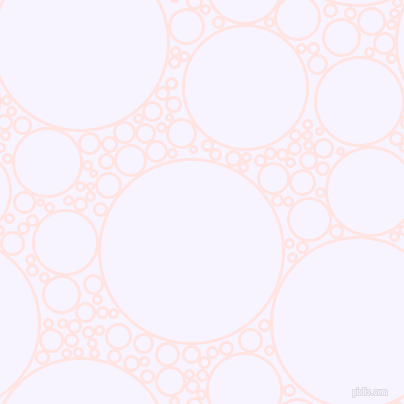 bubbles, circles, sponge, big, medium, small, 3 pixel line width, Misty Rose and Magnolia circles bubbles sponge soap seamless tileable