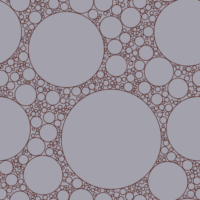 bubbles, circles, sponge, big, medium, small, 2 pixel line width, Moccaccino and Spun Pearl circles bubbles sponge soap seamless tileable