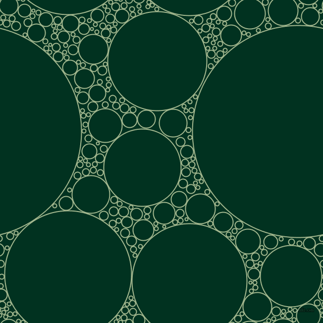 bubbles, circles, sponge, big, medium, small, 2 pixel line width, Norway and Dark Green circles bubbles sponge soap seamless tileable
