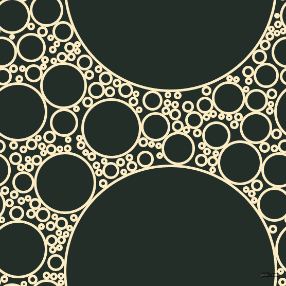 bubbles, circles, sponge, big, medium, small, 5 pixel line width, Oasis and Midnight Moss circles bubbles sponge soap seamless tileable
