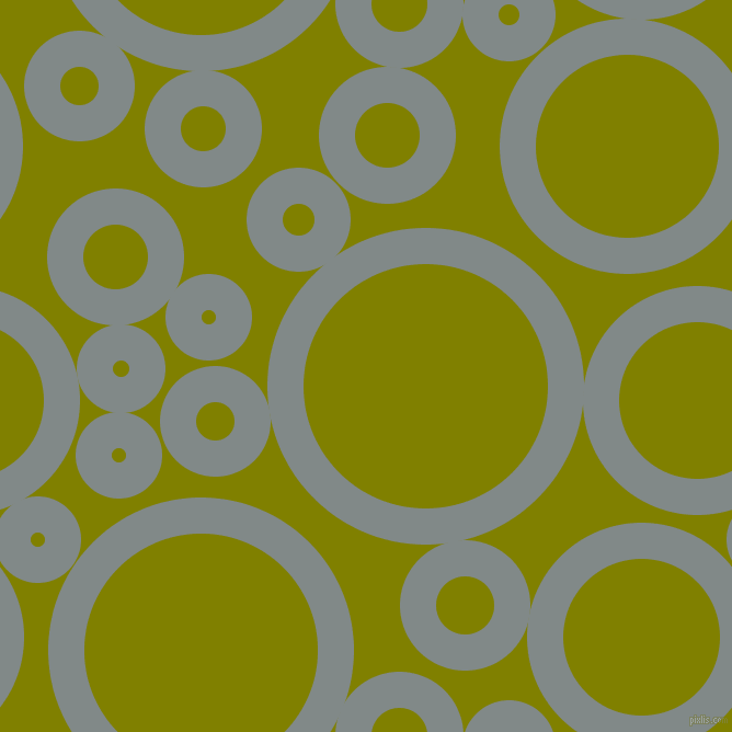 bubbles, circles, sponge, big, medium, small, 33 pixel line width, Oslo Grey and Olive circles bubbles sponge soap seamless tileable