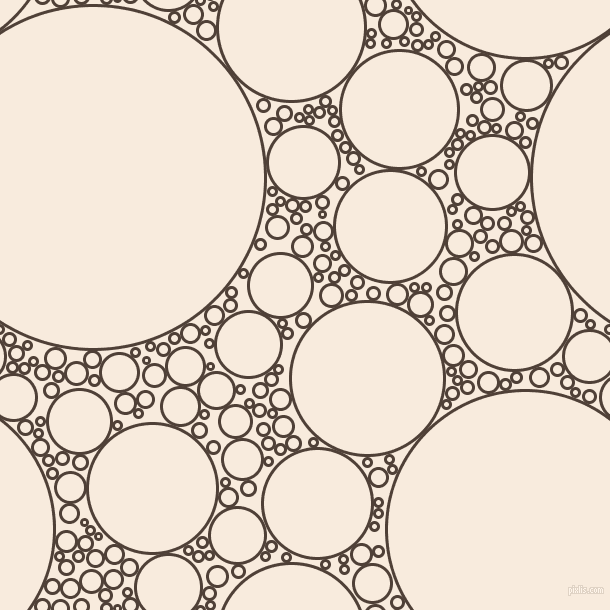 bubbles, circles, sponge, big, medium, small, 3 pixel line width, Paco and Bridal Heath circles bubbles sponge soap seamless tileable