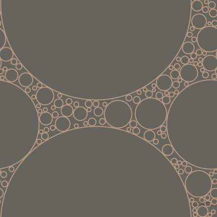 bubbles, circles, sponge, big, medium, small, 2 pixel line width, Pale Taupe and Storm Dust circles bubbles sponge soap seamless tileable