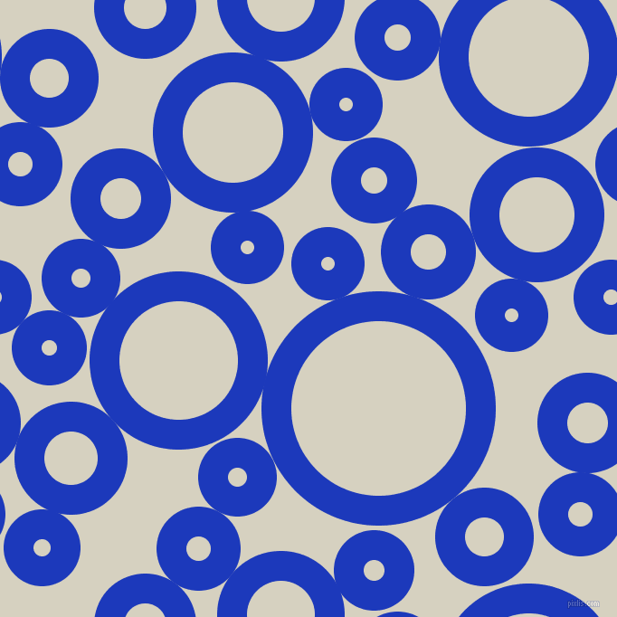 bubbles, circles, sponge, big, medium, small, 33 pixel line width, Persian Blue and Ecru White circles bubbles sponge soap seamless tileable