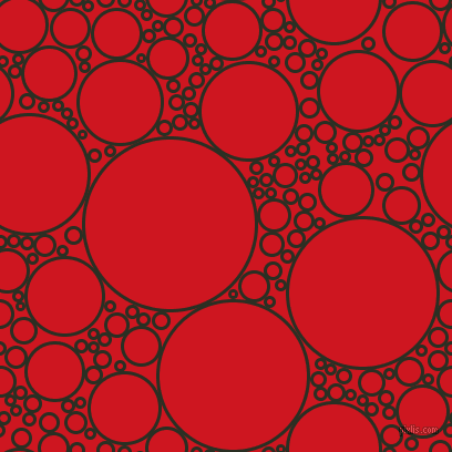 bubbles, circles, sponge, big, medium, small, 3 pixel line width, Pine Tree and Fire Engine Red circles bubbles sponge soap seamless tileable