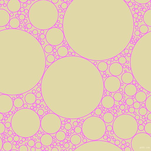 bubbles, circles, sponge, big, medium, small, 2 pixel line width, Pink Flamingo and Mint Julep circles bubbles sponge soap seamless tileable
