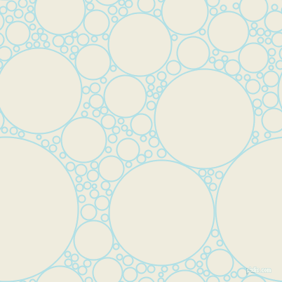 bubbles, circles, sponge, big, medium, small, 2 pixel line width, Powder Blue and Rice Cake circles bubbles sponge soap seamless tileable