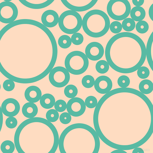 bubbles, circles, sponge, big, medium, small, 17 pixel line width, Puerto Rico and Karry circles bubbles sponge soap seamless tileable
