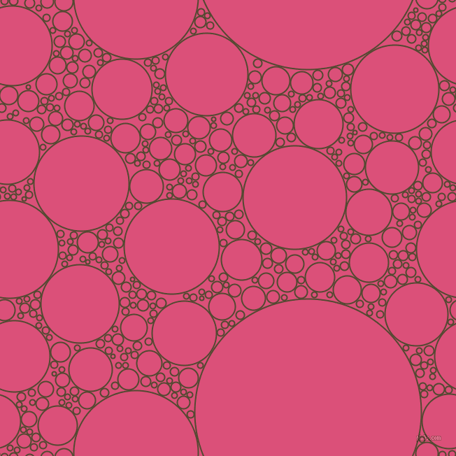 bubbles, circles, sponge, big, medium, small, 2 pixel line width, Punga and Cranberry circles bubbles sponge soap seamless tileable