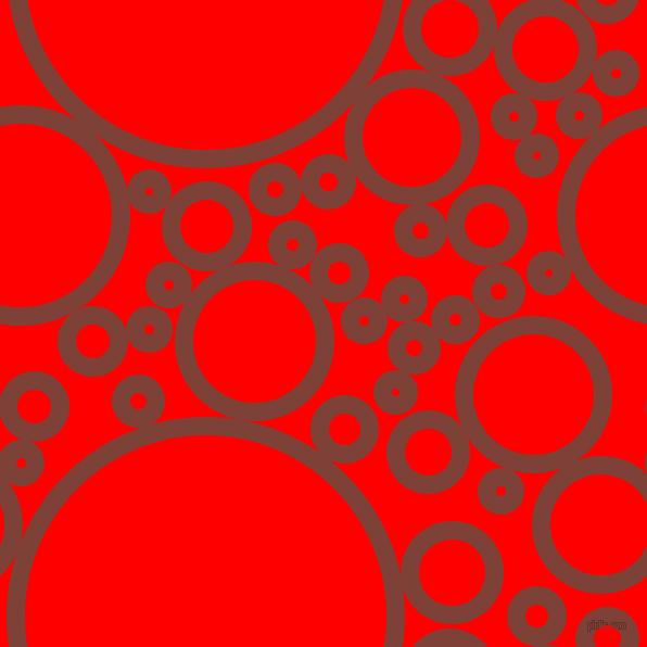 bubbles, circles, sponge, big, medium, small, 17 pixel line width, Red Robin and Red circles bubbles sponge soap seamless tileable
