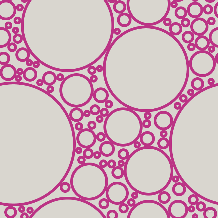 bubbles, circles, sponge, big, medium, small, 9 pixel line width, Red Violet and Timberwolf circles bubbles sponge soap seamless tileable