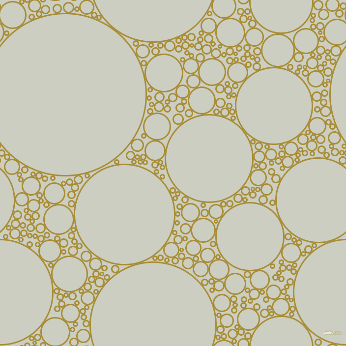 bubbles, circles, sponge, big, medium, small, 3 pixel line width, Reef Gold and Harp circles bubbles sponge soap seamless tileable