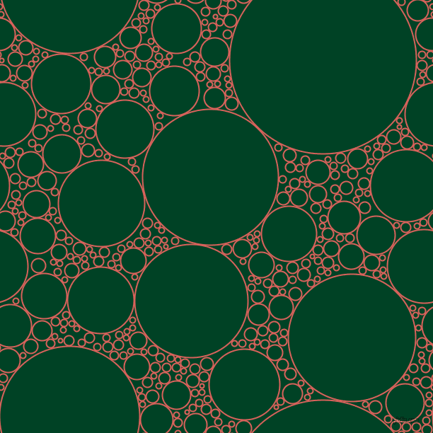 bubbles, circles, sponge, big, medium, small, 2 pixel line width, Roman and British Racing Green circles bubbles sponge soap seamless tileable