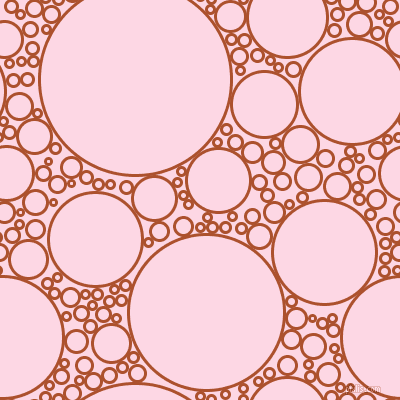 bubbles, circles, sponge, big, medium, small, 3 pixel line width, Rose Of Sharon and Pig Pink circles bubbles sponge soap seamless tileable