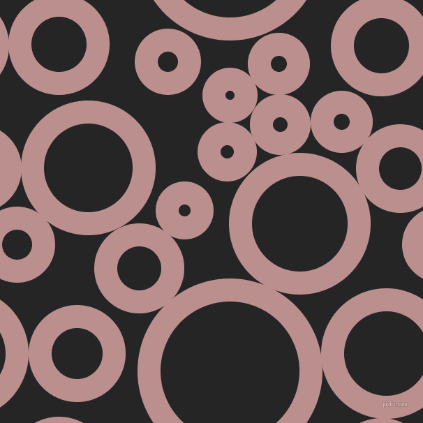 bubbles, circles, sponge, big, medium, small, 33 pixel line width, Rosy Brown and Nero circles bubbles sponge soap seamless tileable