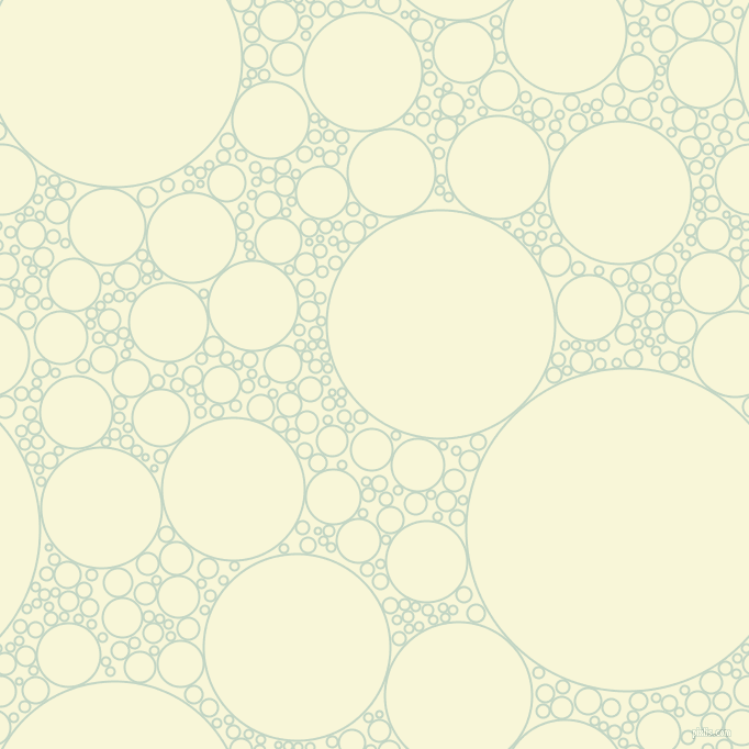 bubbles, circles, sponge, big, medium, small, 2 pixel line width, Sea Mist and White Nectar circles bubbles sponge soap seamless tileable