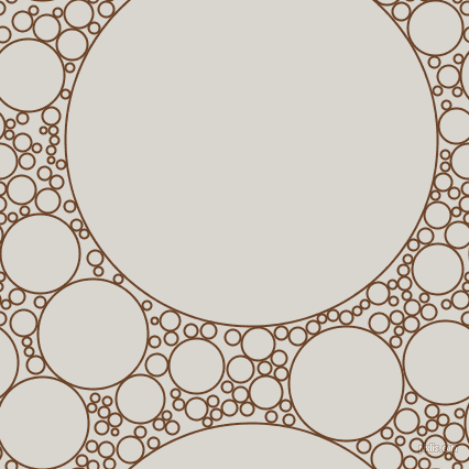 bubbles, circles, sponge, big, medium, small, 2 pixel line width, Semi-Sweet Chocolate and Timberwolf circles bubbles sponge soap seamless tileable