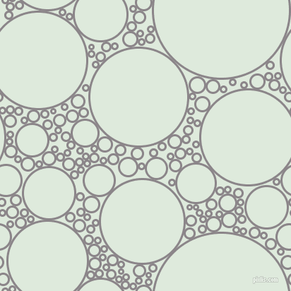 bubbles, circles, sponge, big, medium, small, 3 pixel line width, Taupe Grey and Apple Green circles bubbles sponge soap seamless tileable