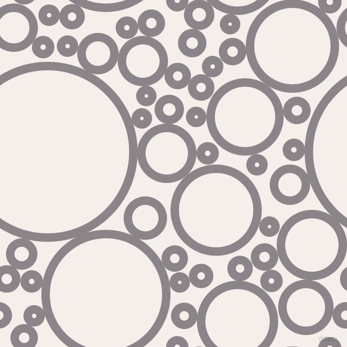 bubbles, circles, sponge, big, medium, small, 17 pixel line width, Taupe Grey and Hint Of Red circles bubbles sponge soap seamless tileable