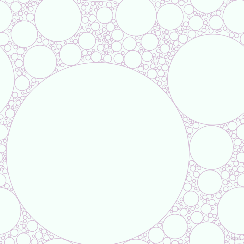 bubbles, circles, sponge, big, medium, small, 2 pixel line width, Thistle and Mint Cream circles bubbles sponge soap seamless tileable