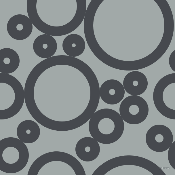 bubbles, circles, sponge, big, medium, small, 33 pixel line width, Tuna and Hit Grey circles bubbles sponge soap seamless tileable