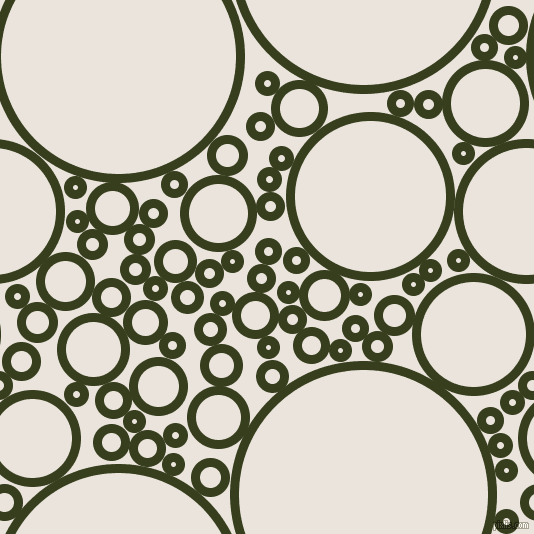 bubbles, circles, sponge, big, medium, small, 9 pixel line width, Turtle Green and Pampas circles bubbles sponge soap seamless tileable
