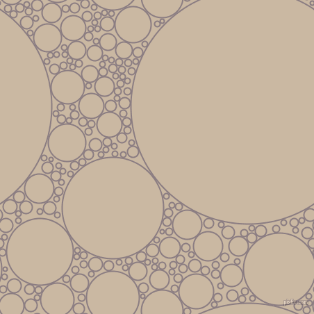 bubbles, circles, sponge, big, medium, small, 2 pixel line width, Venus and Grain Brown circles bubbles sponge soap seamless tileable