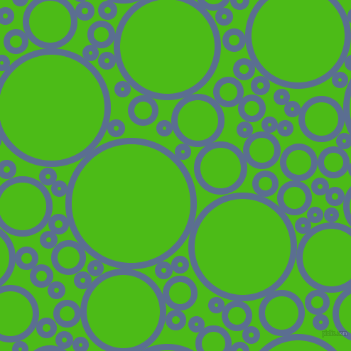bubbles, circles, sponge, big, medium, small, 9 pixel line width, Waikawa Grey and Kelly Green circles bubbles sponge soap seamless tileable
