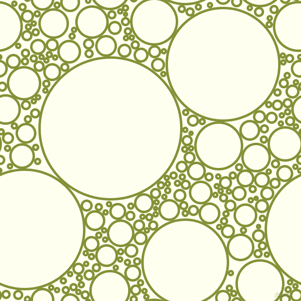 bubbles, circles, sponge, big, medium, small, 5 pixel line width, Wasabi and Ivory circles bubbles sponge soap seamless tileable