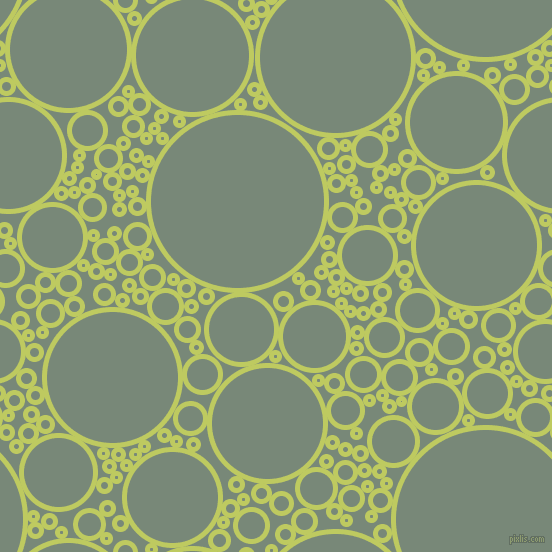 bubbles, circles, sponge, big, medium, small, 5 pixel line width, Wild Willow and Davy