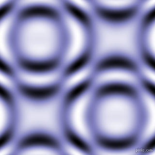 Blue Bell and Black and White circular plasma waves seamless tileable