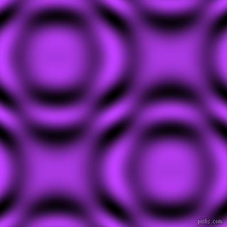 , Heliotrope and Black and White circular plasma waves seamless tileable