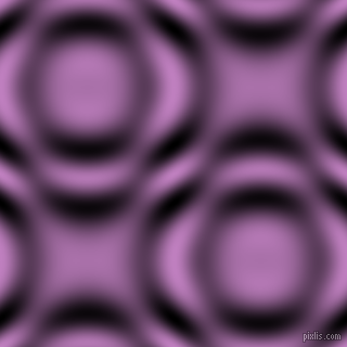 , Lilac and Black and White circular plasma waves seamless tileable