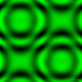 Lime and Black and White circular plasma waves seamless tileable