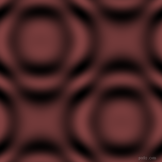 Lotus and Black and White circular plasma waves seamless tileable