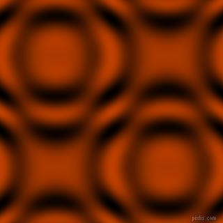 , Rust and Black and White circular plasma waves seamless tileable