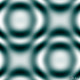 , Sherpa Blue and Black and White circular plasma waves seamless tileable