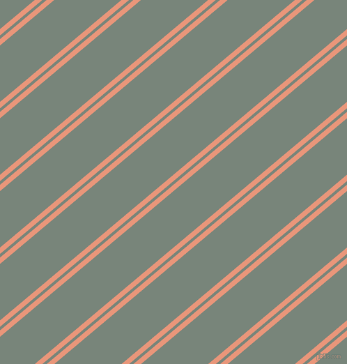 40 degree angle dual striped lines, 7 pixel lines width, 4 and 62 pixel line spacing, dual two line striped seamless tileable
