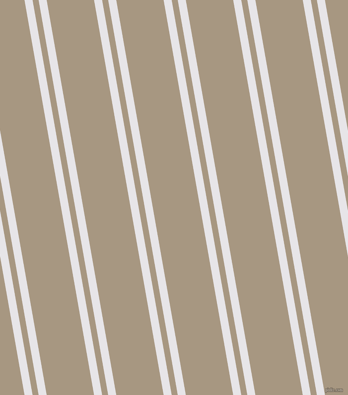 100 degree angles dual stripes line, 16 pixel line width, 12 and 94 pixels line spacing, dual two line striped seamless tileable