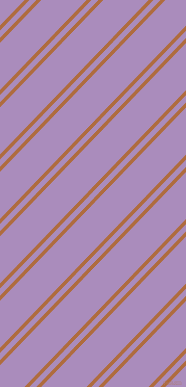 46 degree angle dual stripes lines, 7 pixel lines width, 10 and 65 pixel line spacing, dual two line striped seamless tileable