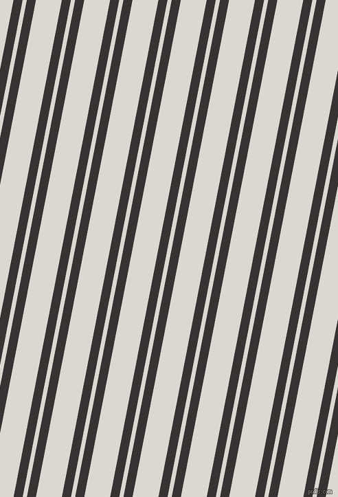 79 degree angles dual stripe lines, 13 pixel lines width, 6 and 37 pixels line spacing, dual two line striped seamless tileable