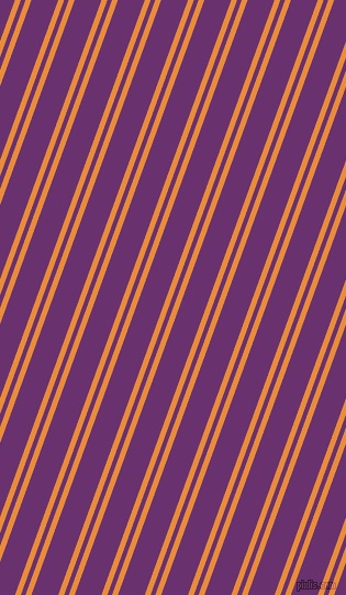 70 degree angles dual stripes line, 5 pixel line width, 4 and 23 pixels line spacing, dual two line striped seamless tileable